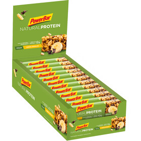 PowerBar Natural Protein Bar Sacoche 24x40g, Banana Chocolate (Vegan)
